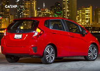 2017 Honda Fit Rear 3 Quarter View