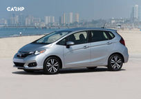 2019 Honda Fit Left Side View