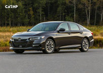 2019 Honda Accord hybrid Sedan's exterior image