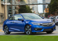 2017 Honda Civic Coupe's exterior image