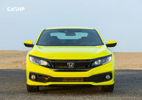2019 Honda Civic Coupe Front View