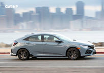 2019 Honda Civic Hatchback Right Side View