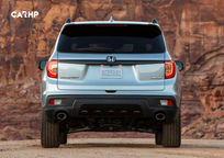2019 Honda Passport Rear View