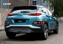 2020 Hyundai Kona Rear View