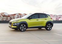 2020 Hyundai Kona Left Side View