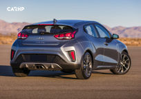 2020 Hyundai Veloster Rear 3 Quarter View