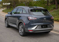 2020 Hyundai Nexo Fuel Cell Rear 3 Quarter View