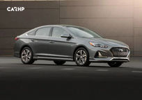 2019 Hyundai Sonata hybrid Sedan 3 Quarter View