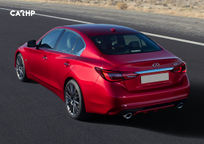 2020 Infiniti Q50 Rear 3 Quarter View