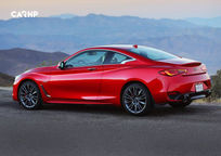 2019 Infiniti Q60 RED SPORT 400 Coupe Left Side View