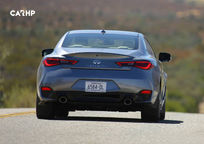 2019 Infiniti Q60 RED SPORT 400 Coupe Rear View
