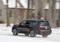 2019 Infiniti QX80 Rear 3 Quarter View