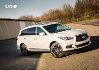 2019 Infiniti QX60 3 Quarter View
