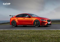 2019 Jaguar XE SV Project 8 Sedan Right Side View