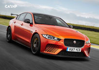 2019 Jaguar XE SV Project 8 Sedan 3 Quarter View