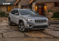 2020 Jeep Cherokee 3 Quarter View