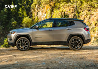 2019 Jeep Compass Left Side View