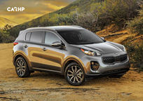 2020 Kia Sportage Right Side View
