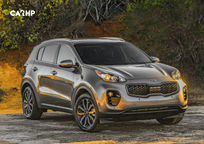 2020 Kia Sportage 3 Quarter View
