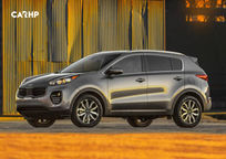 2020 Kia Sportage Left Side View