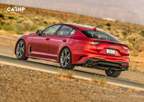 2020 Kia Stinger Rear 3 Quarter View