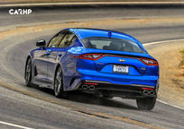 2019 Kia Stinger Rear 3 Quarter View