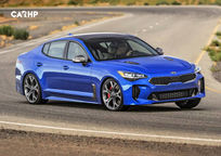 2019 Kia Stinger 3 Quarter View