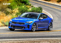 2020 Kia Stinger 3 Quarter View