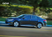 2019 Kia Optima hybrid Sedan Left Side View