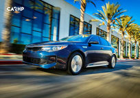 2019 Kia Optima hybrid Sedan 3 Quarter View