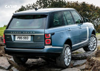 2019 Land Rover Range Rover SV Autobiography SUV Rear 3 Quarter View