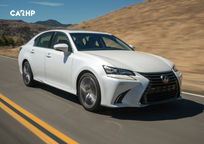 2019 Lexus GS 350 3 Quarter View