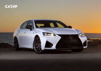2019 Lexus GS F 3 Quarter View