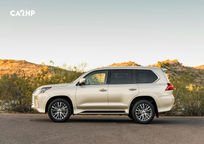 2020 Lexus LX 570 Left Side View