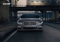 2019 Lincoln MKZ Front View