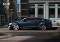 2019 Lincoln MKZ Left Side View