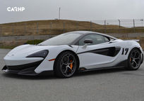 2020 Mclaren 600LT Left Side View