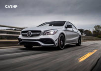 2019 Mercedes-Benz AMG CLA 45 3 Quarter View