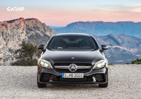 2019 Mercedes-Benz AMG C 43 Coupe Front View