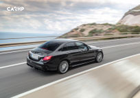2019 Mercedes-Benz AMG C 43 Right Side View