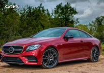 2019 Mercedes-Benz AMG E 53 Coupe 3 Quarter View