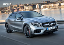 2019 Mercedes-Benz AMG GLA 45 3 Quarter View