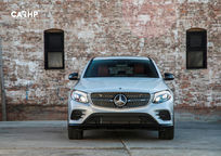 2020 Mercedes-Benz AMG GLC 43 Coupe Front View