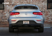 2020 Mercedes-Benz AMG GLC 43 Coupe Rear View