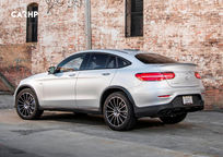 2020 Mercedes-Benz AMG GLC 43 Coupe Left Side View