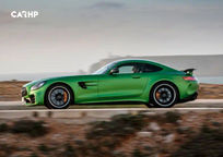 2020 Mercedes-Benz AMG GT Left Side View