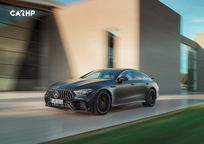 2019 Mercedes-Benz AMG GT 63 3 Quarter View