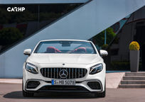 2019 Mercedes-Benz AMG S 63 Convertible Front View