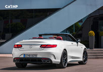 2019 Mercedes-Benz AMG S 63 Convertible Rear 3 Quarter View