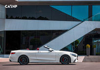 2019 Mercedes-Benz AMG S 63 Convertible Right Side View
